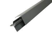 Aluminium 2 Part Lacquered Corner (Olive)
