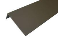 Aluminium 50mm x 150mm Lacquered Angle (Walnut)