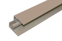 Aluminium 2 Part Lacquered Edge Trim (Camel/Cedar)