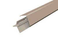 Aluminium 2 Part Lacquered Corner (Camel/Cedar)