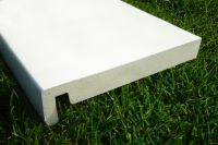 225mm Sumo Fascia Board (white)