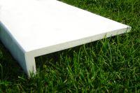 225mm Capping Fascia Board (white)