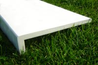 400mm Capping Fascia Board (white)