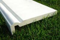 400mm x 16mm Ogee Fascia (white)