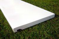 225mm x 16mm Flat Fascia (white)