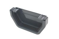 Anthracite Square External Stopend (swish)