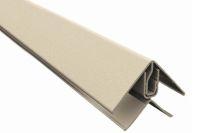 Aluminium 2 Part Lacquered Edge Trim (RAL 8003)