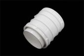 Straight Coupler 82mm (terr white)