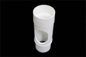 Access Pipe Round (terr white)