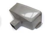 Rainwater Head Square (terr grey)