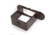 Pipe Bracket Square (terr brown)