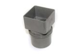 Square to Round Adaptor (terr grey)