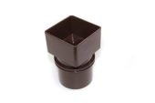 Square to Round Adaptor (terr brown)