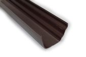 4 Metre Gutter (omega brown)