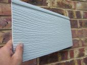 167mm Featheredge Style Cladding (grey)