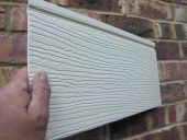 167mm Featheredge Style Cladding (cream)
