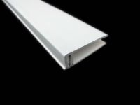 2 Part Top Edge Trim (white)