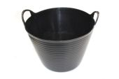 28 Litre Black Flex Tub