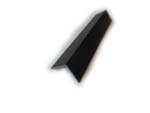 25mm x 25mm Angle (black woodgrain)