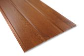 300mm Tongue & Groove Hollow Soffit (Golden Oak)