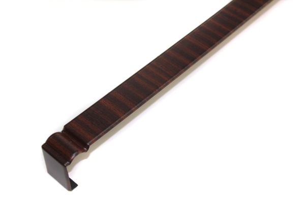 Double Ended Ogee Fascia Joiner Mahogany