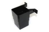Square Offset Connector (black)