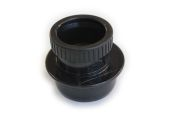 82mm Reducer to 50mm Waste (black)