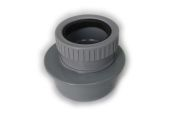 82mm Reducer to 50mm Waste (grey)