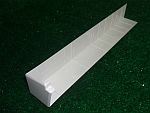 300mm External Fascia Corner (white)