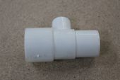 21.5mm x 35mm Overflow Tee for Flush Pipe