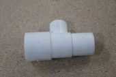 21.5mm x 32mm Overflow Tee for Flush Pipe